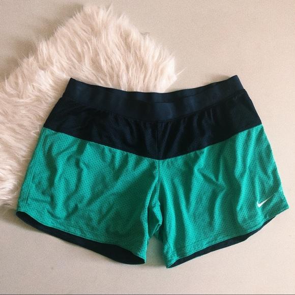 Nike Pants - Blue Nike Just Do It Shorts